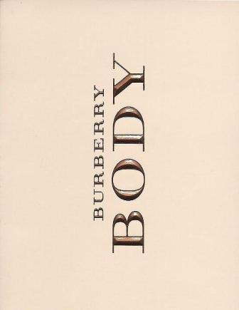 Body Burberry